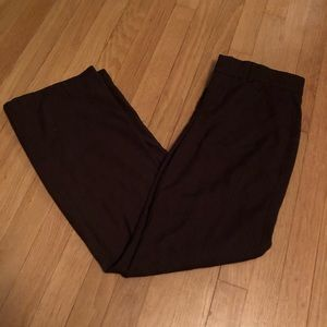 Dockers Brown Pinstripe dress pants. Size 6S